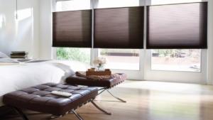 Automated energy saving shades